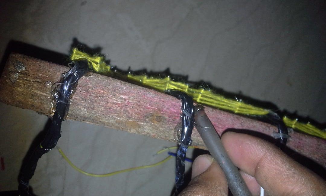 Appling Hot Glue