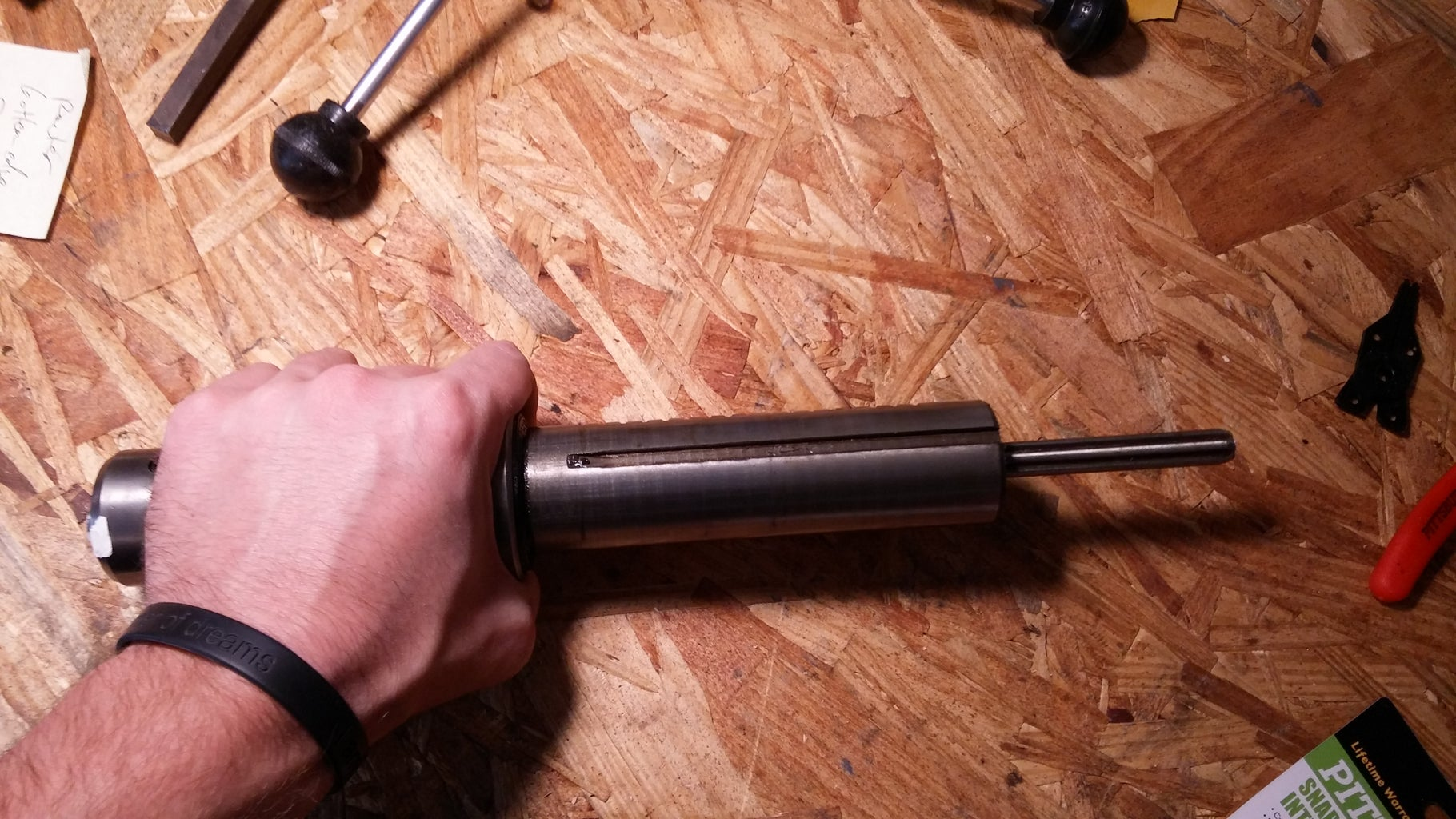 Remove Feed Lever