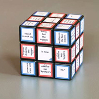Fortune Telling Cube