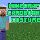 Minecraft Steve Cardboard Box Costume DIY