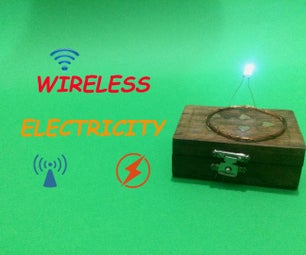 How to Make Wireless Electricity Transmission Circuit - DIY (Step by Step)