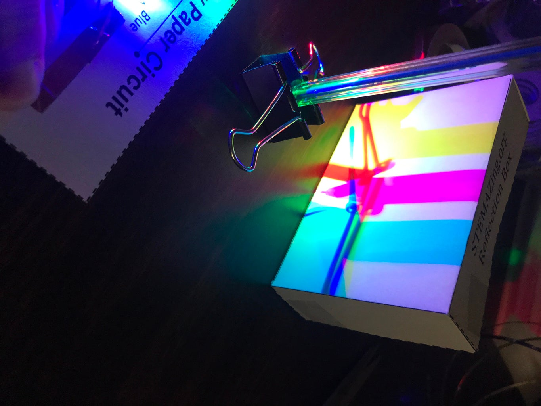 RGB Light Show Miniature.