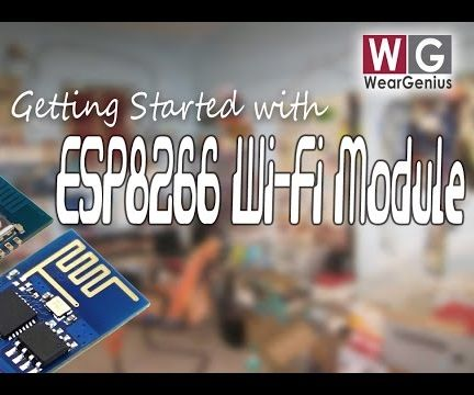 Getting started with ESP8266 | AT Commands