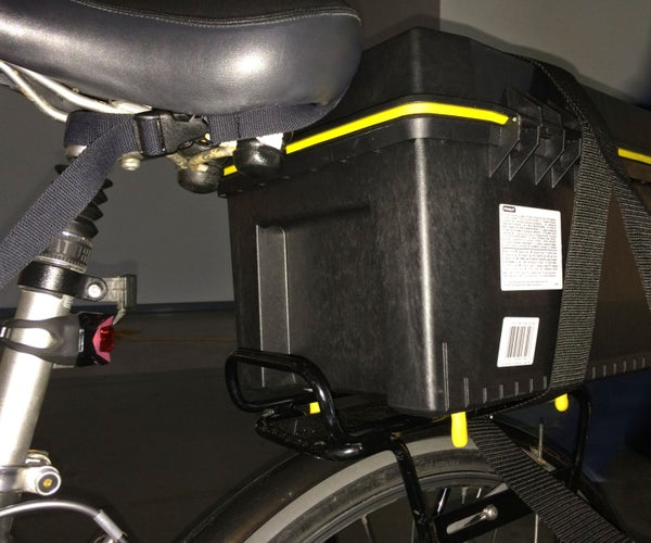 Modding a Toolbox for Easy Bicycle Transport