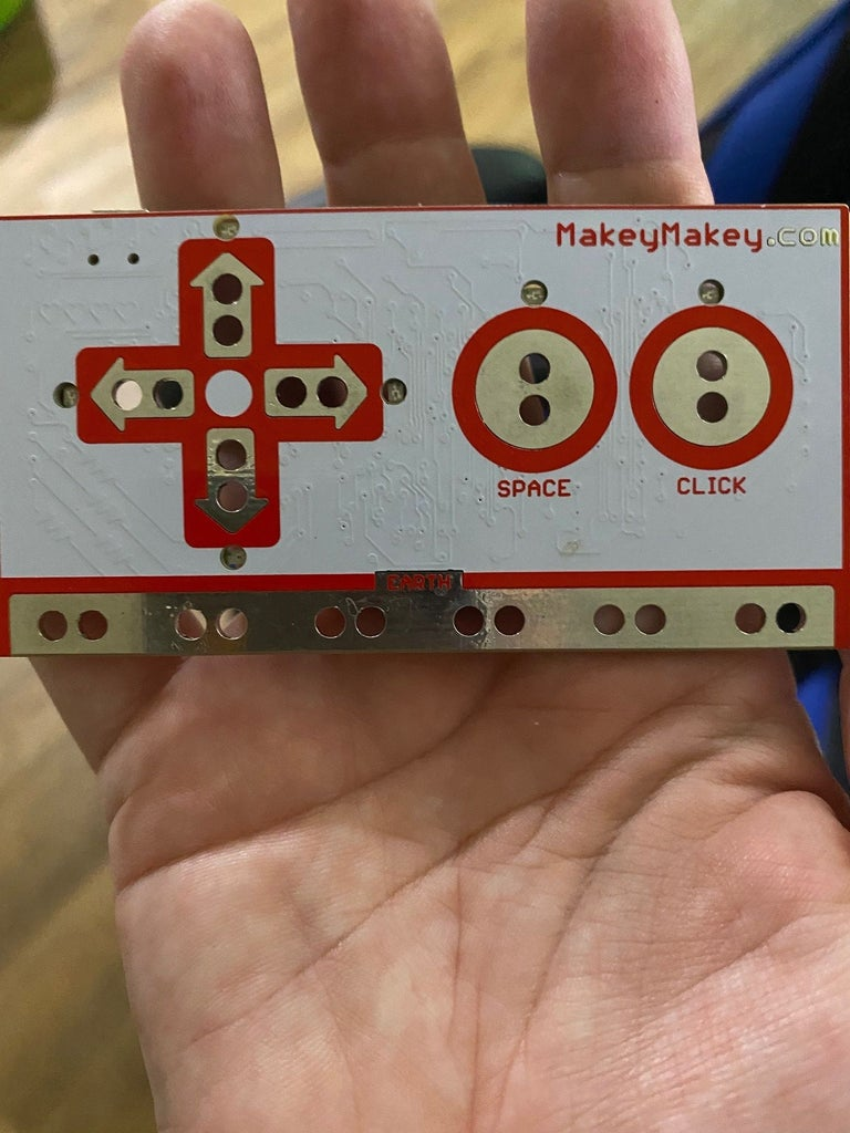 Attach the Alligator Clips to the Makey Makey and the Conductive Tape