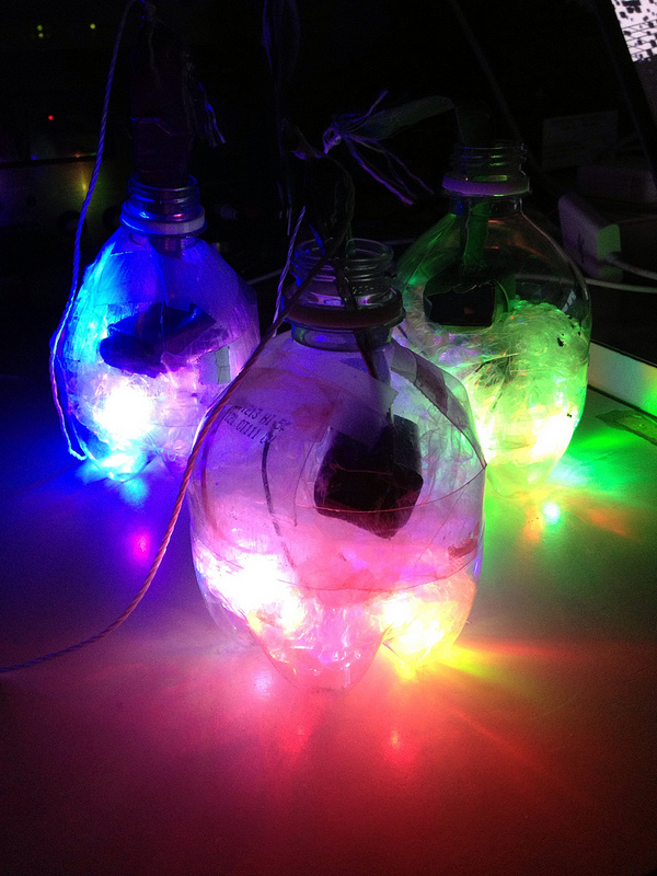 LED Glow Poi - make your own