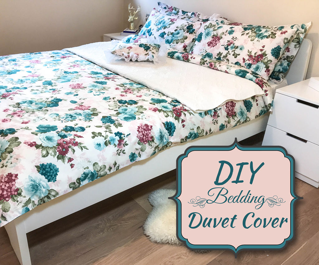 Diy Bedding Duvet Cover 8 Steps With Pictures Instructables