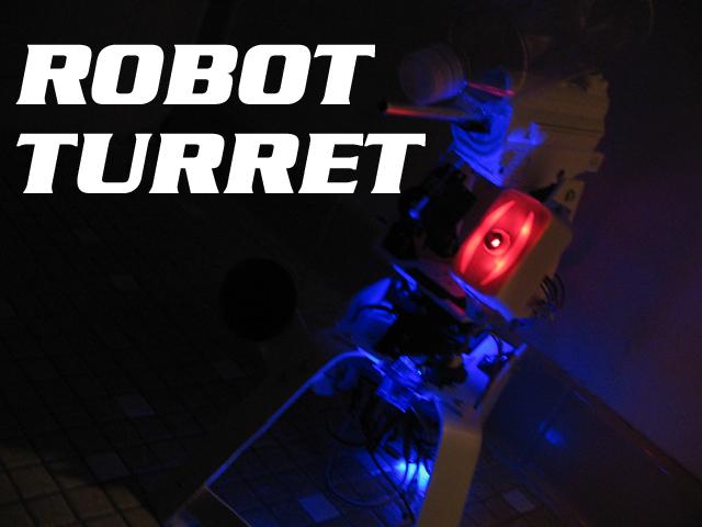 Robotic Talking Turret