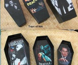 Vampire Nesting Coffins- How to Make