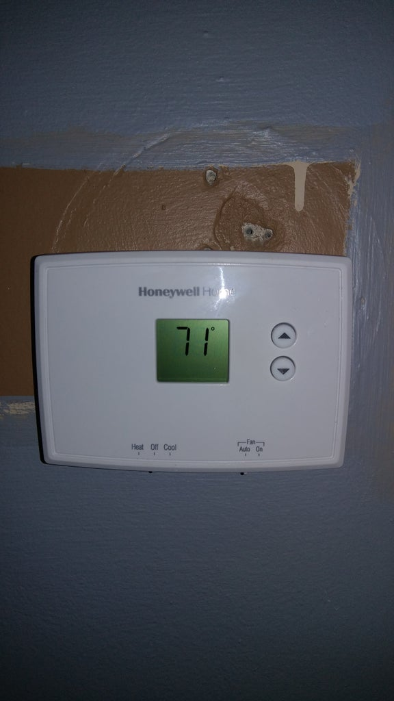 Put Cover Back on Thermostat