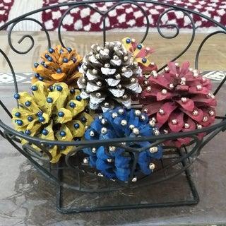 Basket Full of Pine Cones