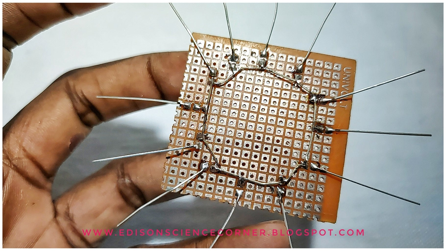 SOLDERING ON a DOT PCB