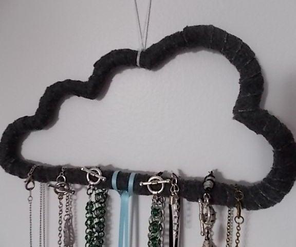 Cloud Jewelry Display