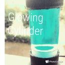 Sci Fi Glowing Cylinder