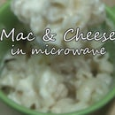 Mac and Cheese in Microwave