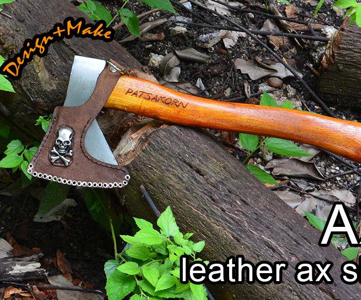 Leather Ax Sheath