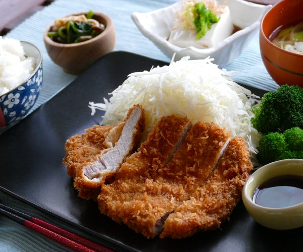 Tonkatsu /  Japanese Style Crunchy Pork Cutlet