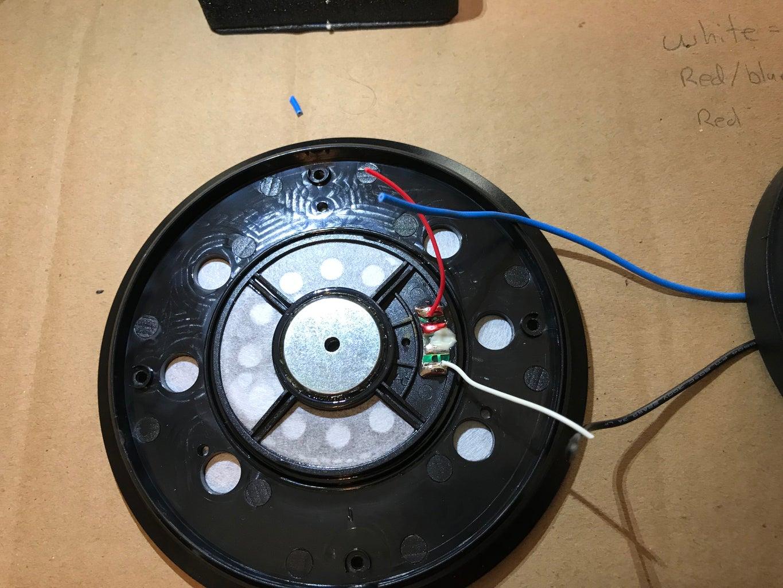 Preparing the Left Speaker