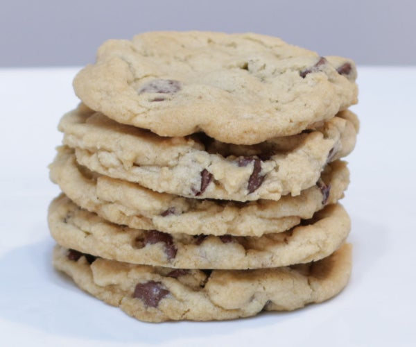 Easy Eggless Chocolate Chip Cookies
