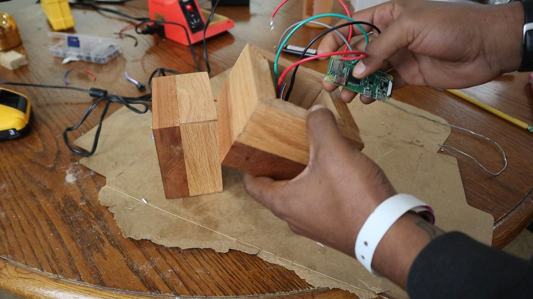 Solder Up the Circuit and Run the Code