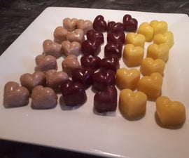 Heart Shaped Gummies  3 Ways