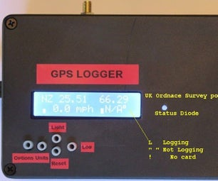 Arduino Mega GPS With LCD and SD Logging