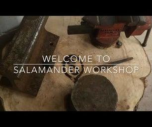 Salamander Workshop Trailer