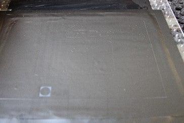 Stencil Mask for Bottom Conductive Layer