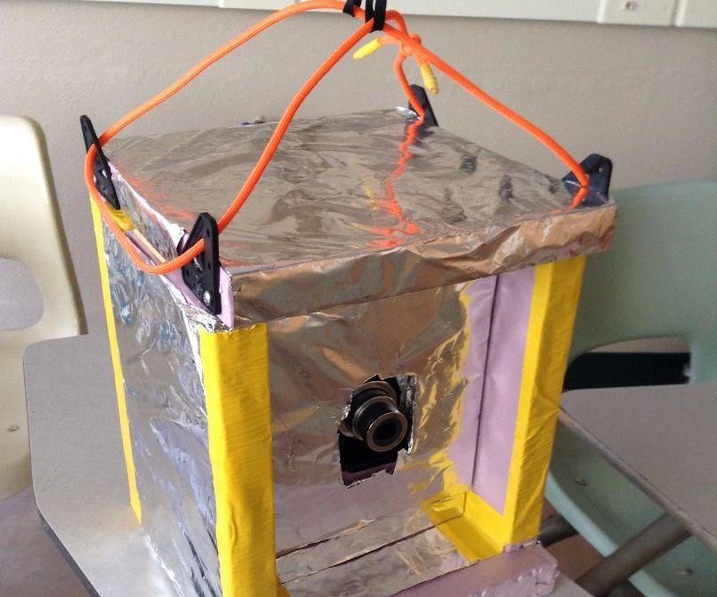 Barebones High-Altitude Balloon Cam