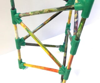 Recycled Plastic Structure