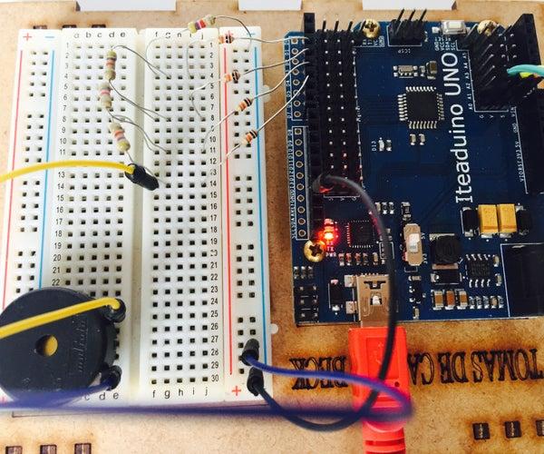 Sintetizador Con Arduino (R2R Ladder)