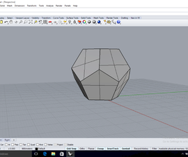 Construct a Dodecahedron in Rhino 3D