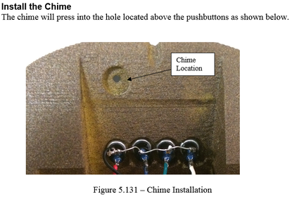 Construction - Install the Chime