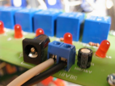 Wire Up the Relay Board to the Outlets.