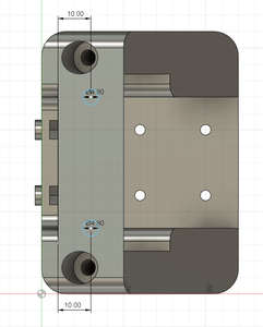 Design Process - Moving Load Cell Mount - More Reinforcement Holes