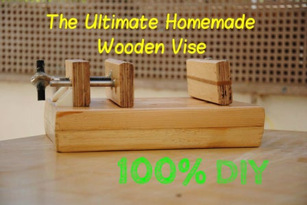 How to Build a Wooden Drill-Press Vise   DIY Woodworking Tools #3