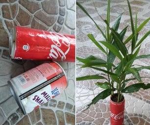 Soda Can Planters