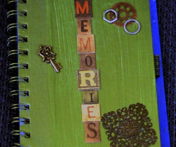 How to Refinish That Blah Old Journal and Make It Your Own.