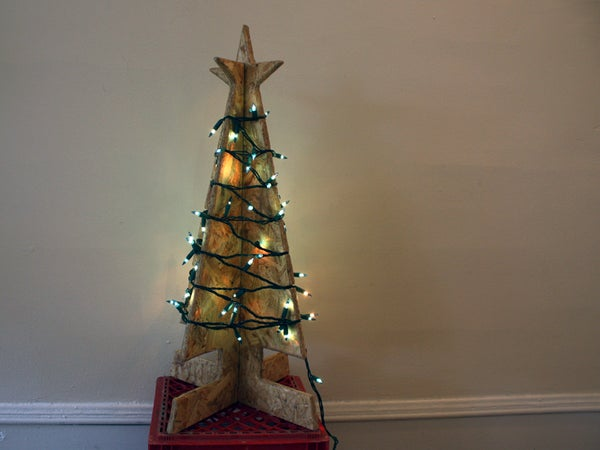 Flat-Pack X-Mas Tree