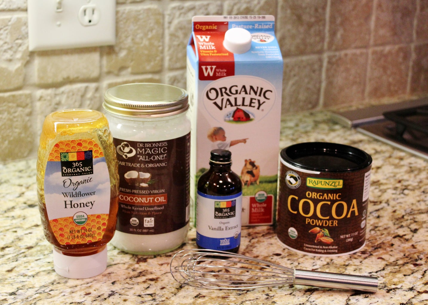 Gluten Free Hot Chocolate With Coconut Oil