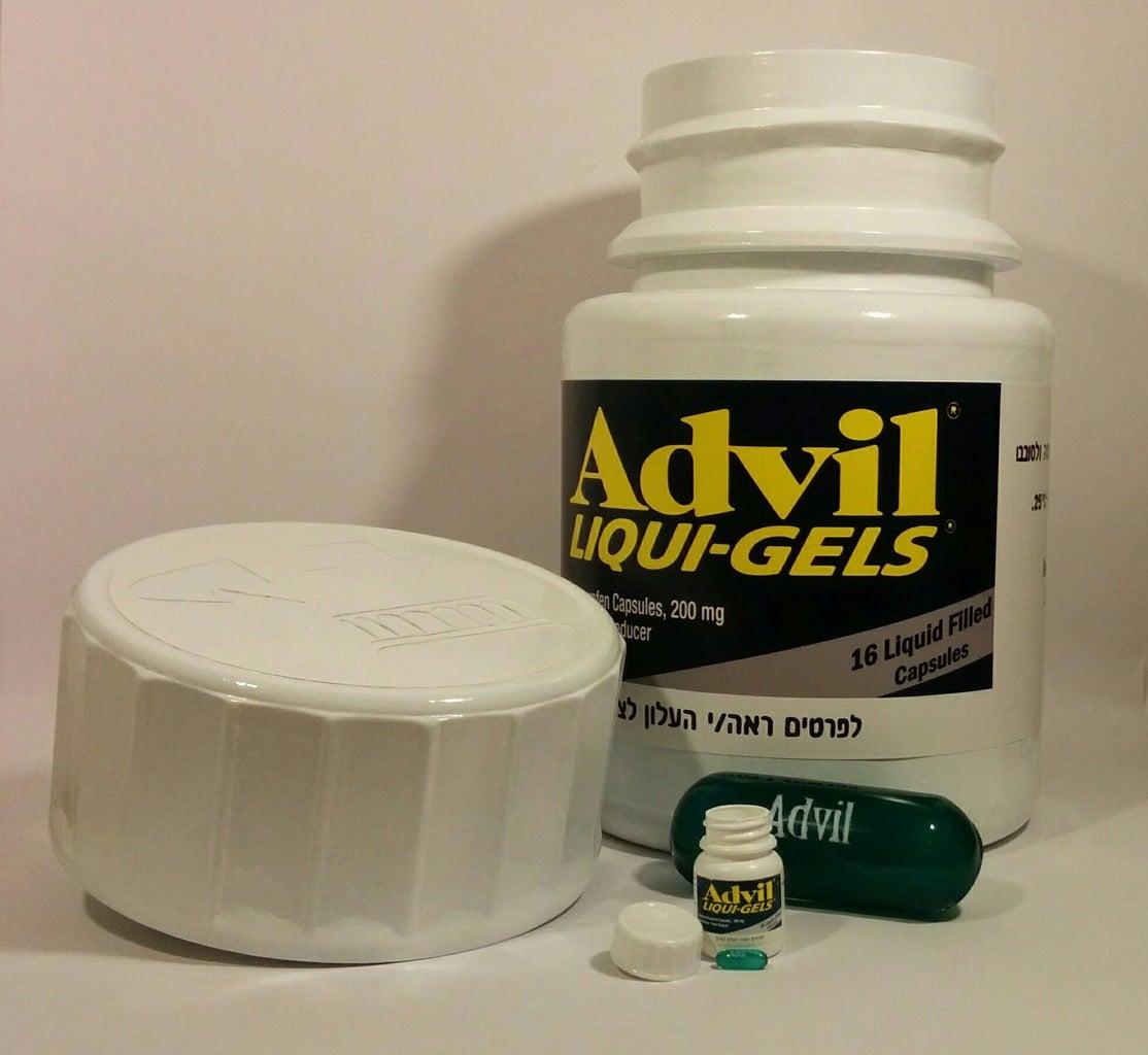 Scaled Advil Model