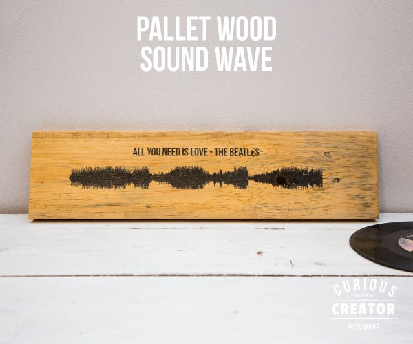 Pallet Wood Song Sound Wave