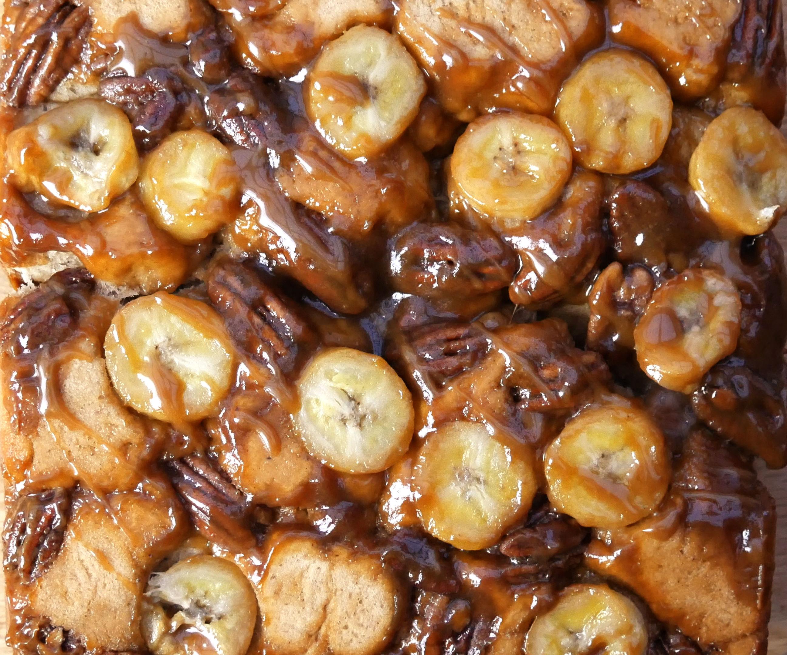 BANOFFEE (BANANA & TOFFEE) PULL-APART BREAD