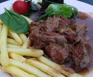比利时牛肉炖(只有15分钟的工作)