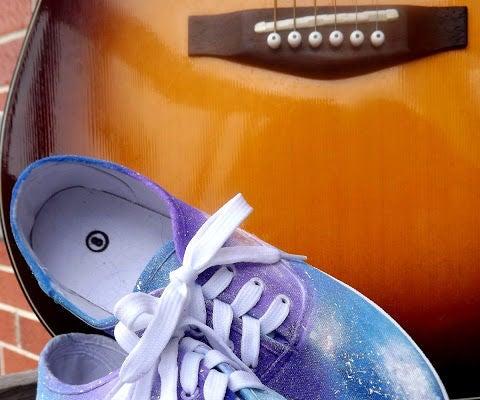 DoItYourself Galaxy Shoes