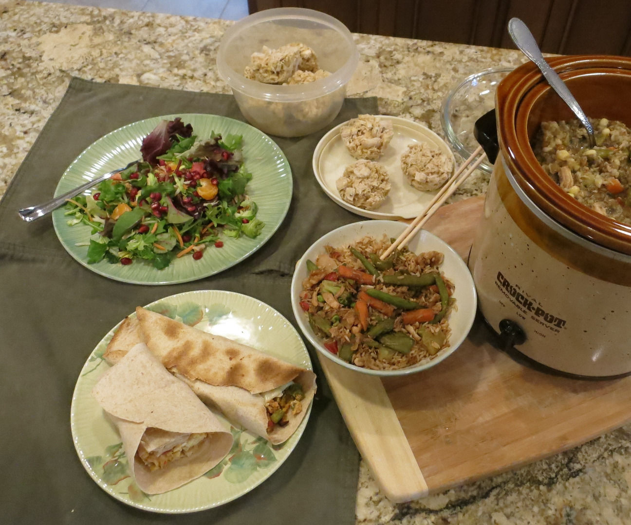 Meal Prep Helpers - Soup, Sandwiches, Stir-Fry, Salads & More