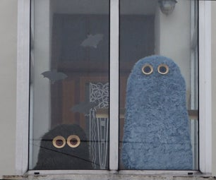 Furry Monsters Behind the Windows