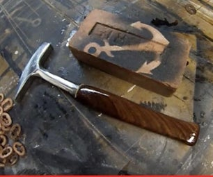 WALNUT HAMMER HANDLE RESTO.