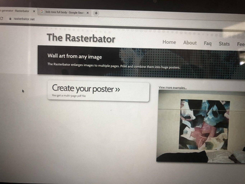 Creating/Sizing the Image