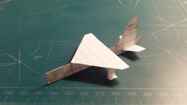 How to Make the SkyHornet Paper Airplane